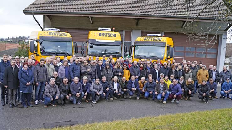 142 Angestellte für ihre Betriebstreue geehrt: Aus ganz Europa wurden die Jubilare nach Dürrenäsch eingeladen (das Unternehmen beschloss erst seit 2012, weltweit aktiv zu werden).
