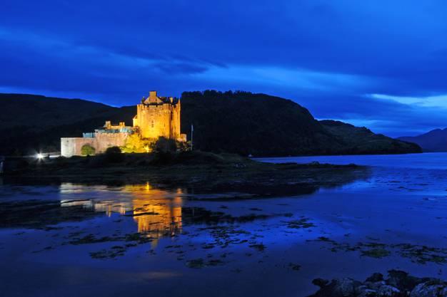«Die wohl meistfotografierte Burg in Schottland», nennt Zimmermann das Eilean Donan Castle.