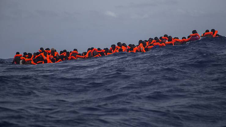Die Zahl der Asylgesuche im laufenden Jahr hängt laut dem Staatssekretariat für Migration (SEM) massgebend davon ab, wie sich die Situation in Libyen und die Zahl der Überfahrten über das zentrale Mittelmeer entwickeln. (Archivbild)