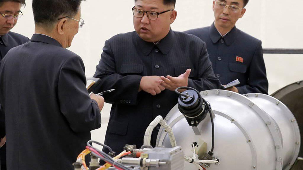 Nordkorea auf Erfolgskurs: Der Führer Kim Jong Un erreicht einen Fortschritt im Dialog mit den USA. (Archivbild)