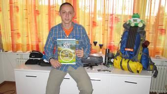 Der Grenchner Steven Gulyas startet eine «Sponsorenwanderung» für das «Rodania».