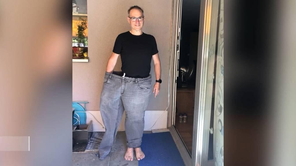 82 Kilo in 1,5 Jahren: Hunzenschwiler gelingt rekordverdächtige Diät