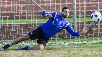 Im Training waren es noch seine Mannschaftskollegen – am Sonntag gegen Luzern schiessen wohl vor allem die FCB-Fans scharf in Richtung Renato Steffen.