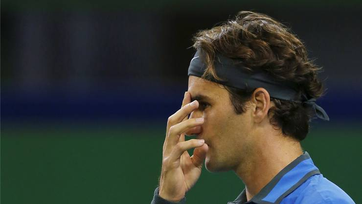 Ruhe vor dem Sturm: Roger Federer vor dem Heimspiel in Basel.