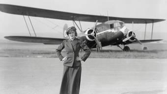 Nelly Diener - erste Stewardess Europas