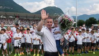 Nicht mehr Trainer in Lugano: Livio Bordoli verabschiedet sich vom Super-League-Aufsteiger