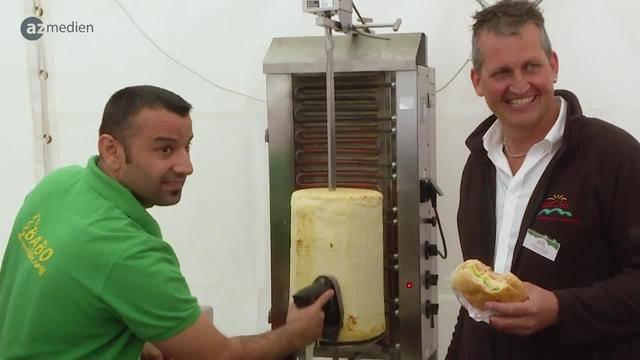 Käse gibt es jetzt als Kebab