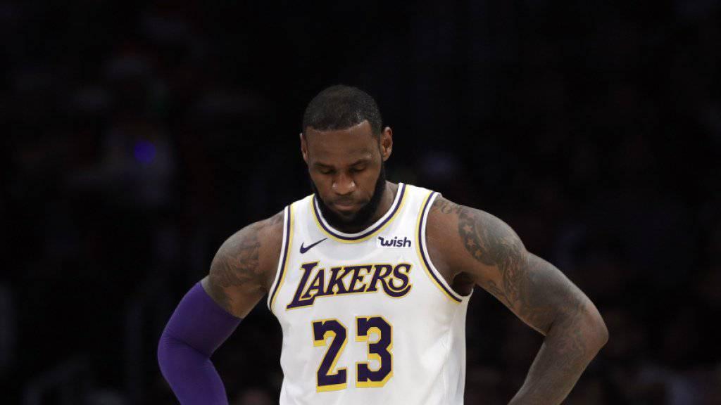LeBron James träumt von einem NBA-Duell mit seinem Sohn