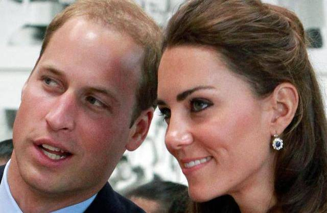 Prinz William mit Kate