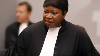 Chefanklägerin Fatou Bensouda am Dienstag am Internationalen Strafgerichtshof in Den Haag.