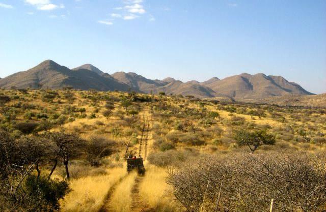 Die Khomas-Berge vor wenigen Wochen