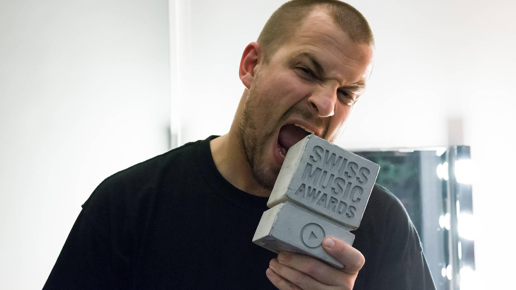 Stress: Der erste gewinner der Swiss Music Awards 2015