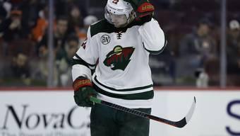 Nino Niederreiter wird zukünftig nicht mehr das Trikot von Minnesota Wild tragen