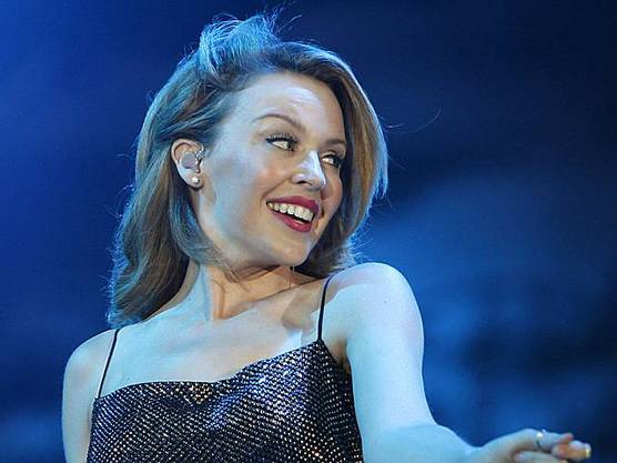 Kylie Minogue in Aktion (Archiv)