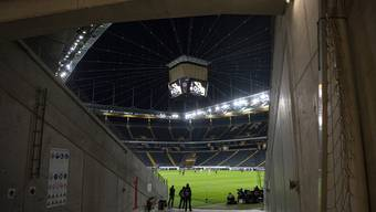 Die Frankfurter Commerzbank Arena.