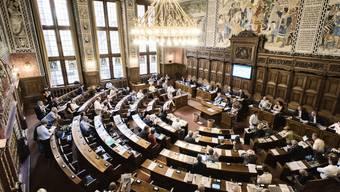 Basel 28.6.2017 - Bilder einer Grossratssitzung im Grossen Rat im Rathaus im Grossratssaal. Photo by Roland Schmid