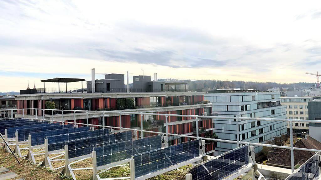 ZHAW testet senkrechte Solarpanels
