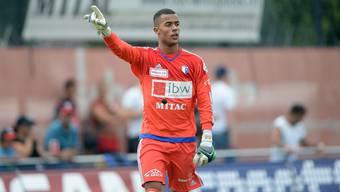 Goalie Joel Kiassumbua zeigte auch in Wil wieder, dass er einer der wichtigsten Männer im Kader des FC Wohlen ist.