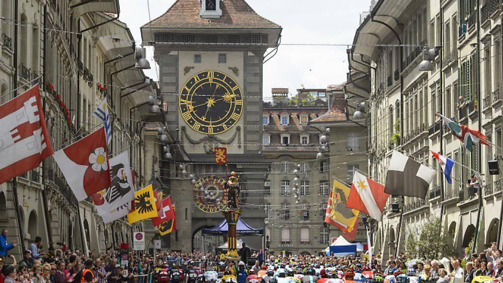 In diesem Jahr war die Tour de Suisse zu Gast in Bern