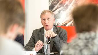 Alfred Schmid, Präsident des FC Aarau: «Der FC Aarau steht voll und ganz hinter den Initianten.»