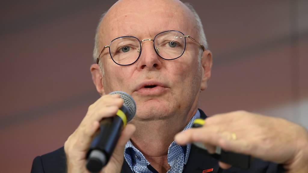 SBB-Chef Vincent Ducrot geht davon aus, dass die SBB sicher durch die Corona-Krise 300 bis 400 Millionen Franken verloren haben.