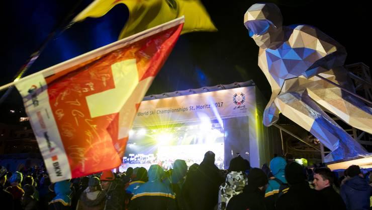 Die Ski-WM 2017 in St. Moritz ist offiziell eröffnet.