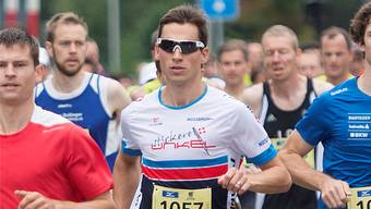 Severin Widmer am Weissensteinlauf.