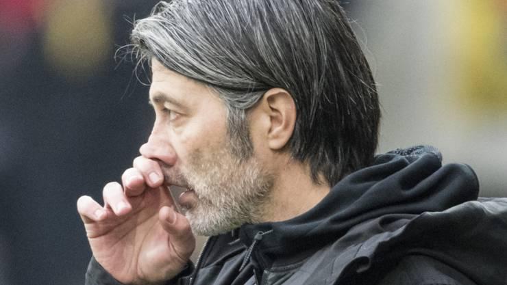 Steht vor dem Derby gegen den FCZ massiv unter Beschuss: GC-Trainer Murat Yakin