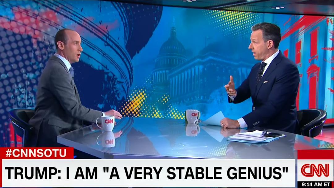Nach gut 12 Minuten hatte der CNN-Moderator dann die Schnauze voll. Hier das ganze Interview.