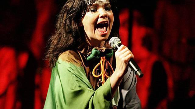 Die isländische Sängerin Björk (Archiv)