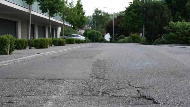 Der Gemeinderat möchte die Sandstrasse in Gebenstorf fast in ihrer gesamten Länge sanieren.