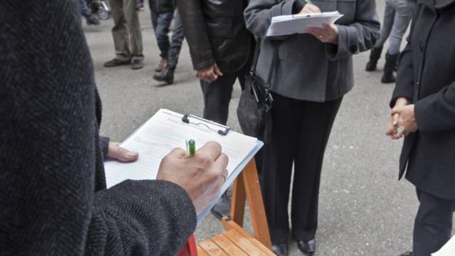 Die Unterschriftensammlung soll im Mai beginnen (Symbolbild)