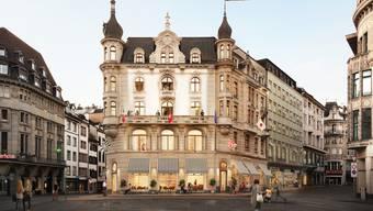 Neues Hotel Marktplatz Basel