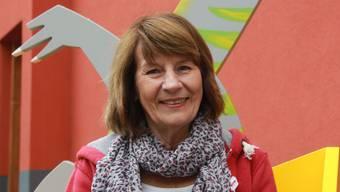 Doris Benker, Möhlin, Präsidentin des ankers , des Vereins fpr Psychisch Kranke Aargau.