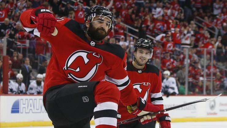 Kyle Palmieri ist zum Saisonstart in absoluter Torlaune, hat er doch in vier Spielen bereits sieben Treffer für die New Jersey Devils erzielt