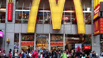 McDonald's-Filiale am Times Square in New York (Archiv)