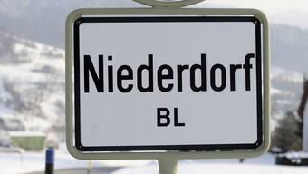 Hochwasserschutz in Niederdorf.