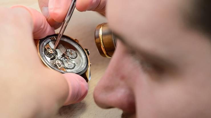 Viele Uhrmacher wurden in Kurzarbeit geschickt. Dieses Instrument fehlte in früheren Krisen.