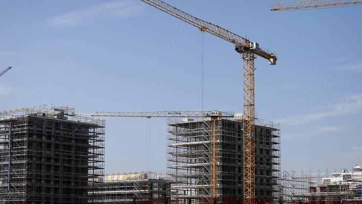 Bautätigkeiten der Stadt Zürich verzeichnet im Jahr 2016 einen leichten Rückgang.