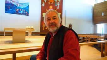 Martin Linzmeier, hier in der Kirche Gipf-Oberfrick, wird die Projektleitung für den Pastoralraum «AG20» übernehmen..Archiv