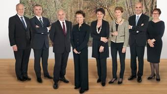 Der Gesamtbundesrat mit Bundeskanzlerin (rechts): Das Vertrauen in die Landesregierung steigt (Bildquelle: Bundeskanzlei/Corinne Glanzmann)