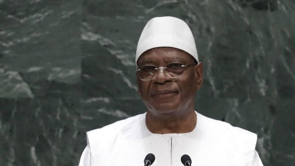 Malis gestürzter Ex-Staatschef in die Emirate ausgeflogen
