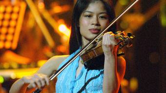 Vanessa Mae wechselt die Geige mit den Skis aus