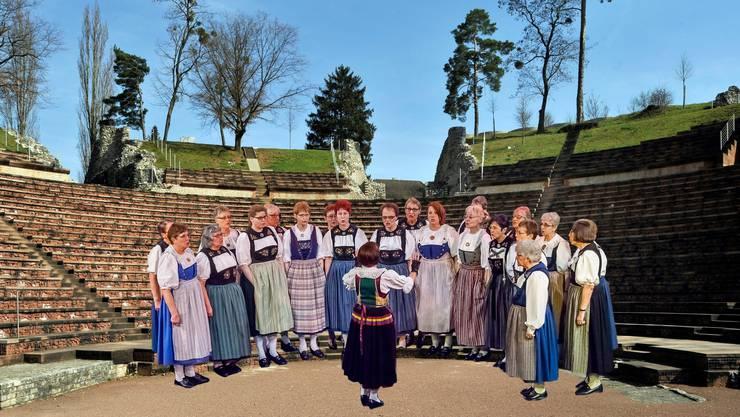 Im Amphitheater in Augst fanden zuletzt Rock- und klassische Konzerte statt. Nun sollen dort auch Jodler und Trachtengruppen auftreten.