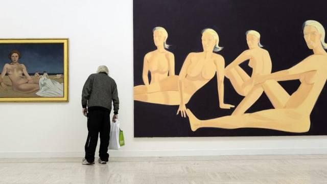 Werke von Félix Vallotton in Lausanne (Archiv)