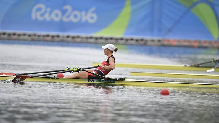 Jeannine Gmelin beendete den A-Final auf Platz 5