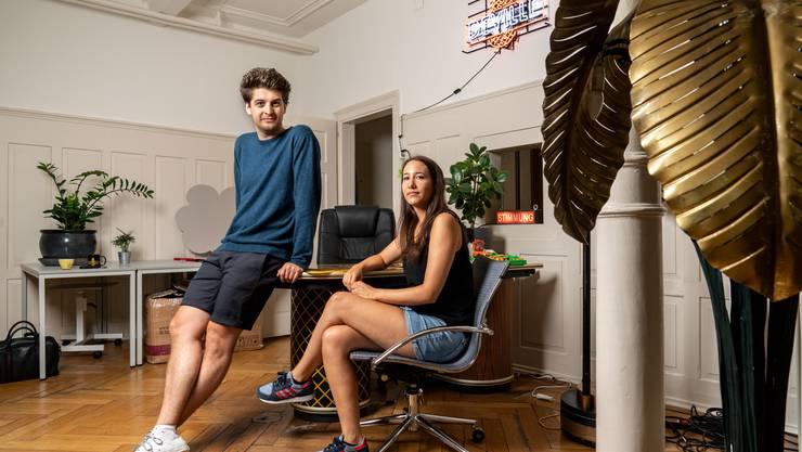Patrick «Karpi» Karpiczenko und Natascha Beller: Beim Dreh ihres ersten Kinofilms profitierten sie von ihrer jahrelangen Fernseherfahrung.