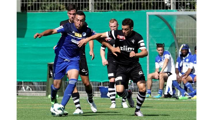 Concordia  Mesut Arslanfer (li) gegen Ricardo Farinha