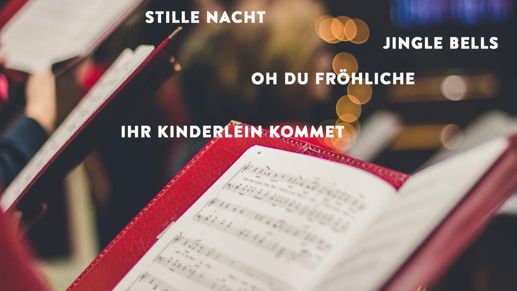 Ladet hier die Songblätter für eure Weihnachtsfeier herunter