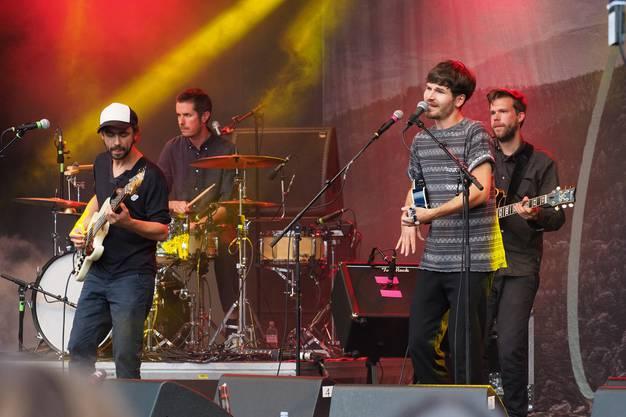James Gruntz und Band